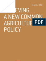 Achieving a New Common Agricultural Policy