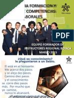 2. PRESENTACIÓN PROGRAMA DE FORMACIÓN Y ENFOQUE POR CL