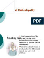 3-Cervical Radiculopathy