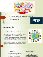 O conto infantil no processo de alfabetização