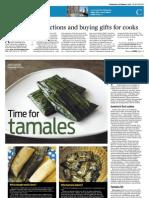Taste- Time for Tamales