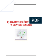 Cap 2 y 3 CAMPO ELÉCTRICO Y LEY DE GAUSS.pdf
