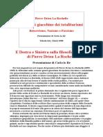 Pierre Drieu La Rochelle Le radici giacobine dei totalitarismi