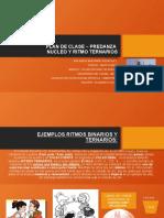 PLAN DE CLASE – PREDANZA NUCLEOS BINARIOS Y