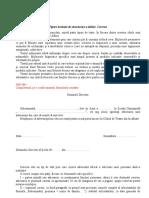 Tipare textuale de structurare a ideilor Cererea (suport de curs) Clasa a VII-a