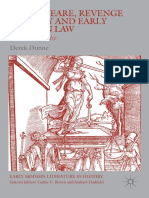 (Early Modern Literature in History) Derek Dunne (auth.) - Shakespeare, Revenge Tragedy and Early Modern Law_ Vindictive Justice-Palgrave Macmillan UK (2016).pdf