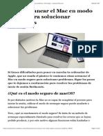Cómo arrancar el Mac en modo seguro para solucionar problemas | Tecnología - ComputerHoy.com