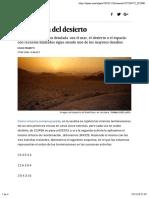 Matemáticas - La travesía del desierto
