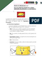 SESION DE APRENDIZAJE N° 13