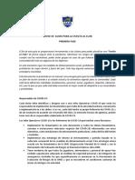 Protocolo UAR Covid 19