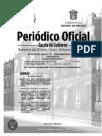 GACETA DEL GOBIERNO EDOMEX 20 DE MAYO