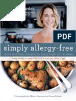 Simply Allergy-Free - Elizabeth Gordon