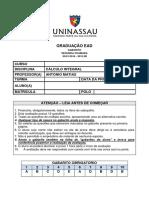 2015_2B_2 - CÁLCULO INTEGRAL