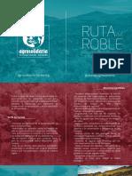 Brochure Ruta del Roble