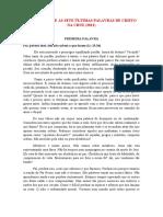 SERMÃO SOBRE AS SETE ÚLTIMAS PALAVRAS DE CRISTO NA CRUZ 2011