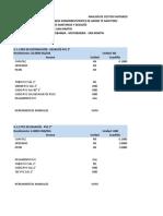 Análisis de Costos Unitarios Sanitarias