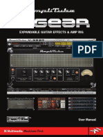 AmpliTube X-GEAR User Manual