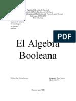 El Algebra Booleana