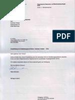 Antwort 22-12-2010 Reto Ammann u Herr Thuer Zu Zugangsgesuch is Botschafter Berg Empfehlung