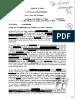 Rebekah Jones Affidavit Tallahassee Police Redacted
