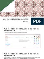 Guía para crear formularios de Google (1)