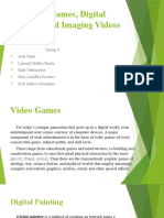 Video Games, Digital Painting and Imaging Videos