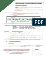 TS - Chapitre 17 - Codage, transmission et stockage de l'information numérique