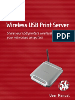 Belkin Print Server Manual