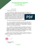 Circular FAE Actividades 20-05-2020