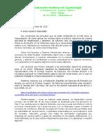 Circular FAE Actividades 19-05-2020