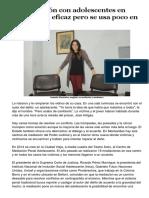 La mediación con adolescentes en conflicto es eficaz pero se usa poco en Uruguay