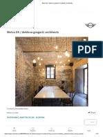 Bistro EK _ dekleva gregorič architects _ ArchDaily