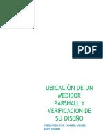 MEDIDOR-PARSHALL-Y-VERIFICACIÓN-DE-SU-DISEÑO ken.docx