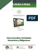 Guía paso a paso Nuevo Marangatu - Actualización de Actividades Económicas y Obligaciones