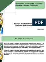 Apresentacao IBAMA - Henrique Varejao