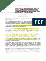 IPRA Law of 1997