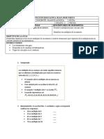 GUIA DE MATEMATICAS DOC.GLADYS ACOSTA