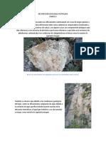 DESCRIPCION GEOLOGICA PETROLERA
