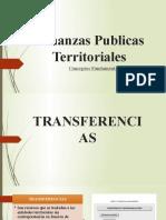 Finanzas Publicas Territoriales