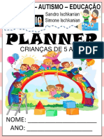 Planeer 5 Anos Educação Infantil