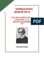 Oswald Wirth Simbolismo Hermetico