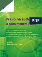 Zbirka Izabranih Presuda Evropskog Suda Za Ljudska Prava u Slucajevima Protiv BiH, Hrvatske, Makedonije Slovenije i Srbije