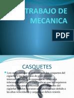 TRABAJO DE MECANICA 2013