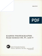 Earth Photographs From Gemini III, IV, And V