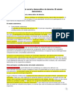 Tema 2- DERECHO CONSTITUCIONAL 1