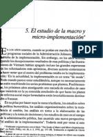 5 Berman Micro y Macro Implementación