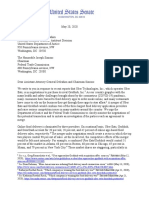Democratic Senators write to DOJ and FTC about Uber/Grubhub deal