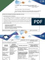 Guía de actividades y rúbrica de evaluación- Paso 2 - Presentación y Analisis de la Información