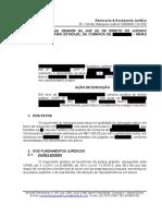 peticao inicial execucao de honorarios dativo