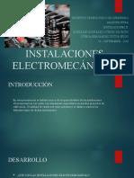 INSTALACIONES-ELECTROMECÁNICAS-II